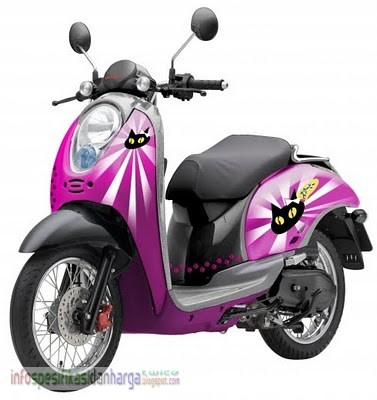... Honda Scoopy Motor Terbaru November 2012 | Info Harga dan Spesifikasi