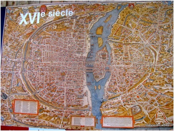 old map of paris