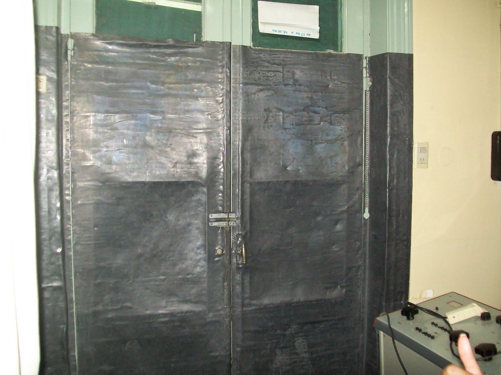 Tecradiologos sala de rayos x for Cuarto de rayos x