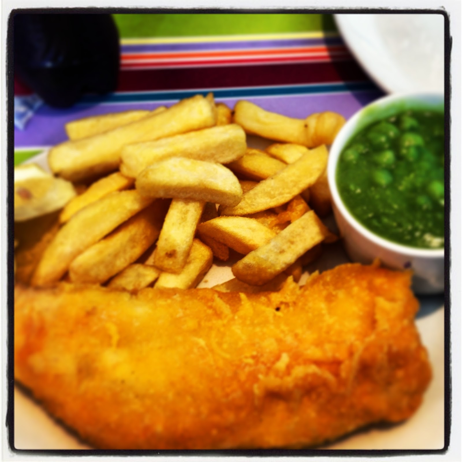 The hungry boyfriend gluten free fish and chips for Gluten free fish and chips