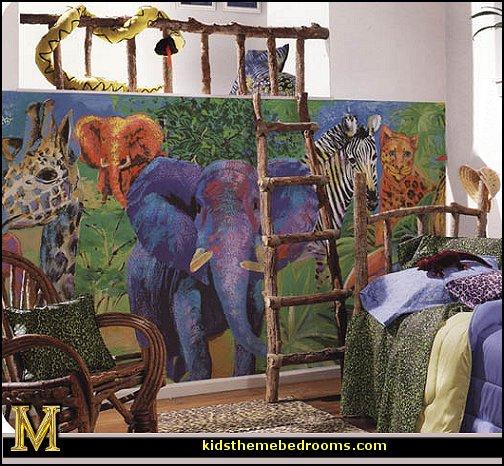 Jungle Bedroom Decorating Ideas
