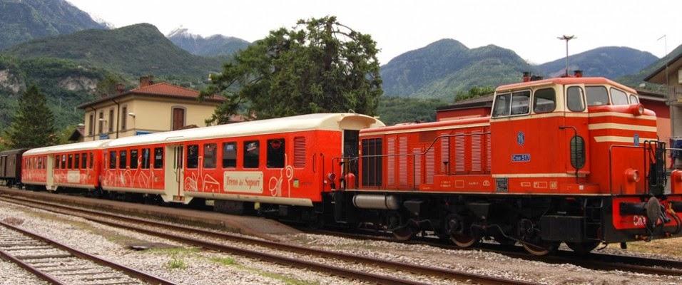 Toscana en tren
