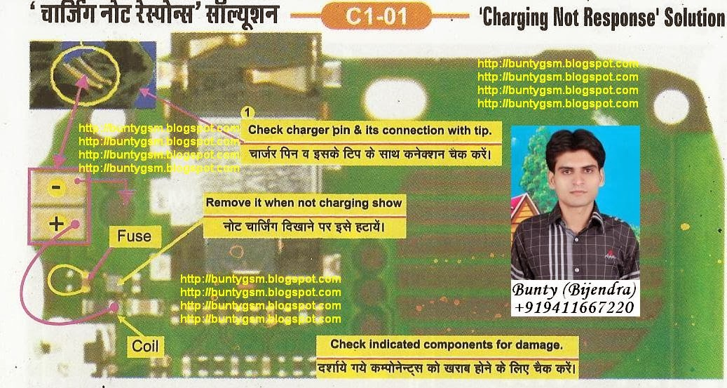 Nokia       C1   01 Charging Solution By BuntyGSM Mobile Repairing