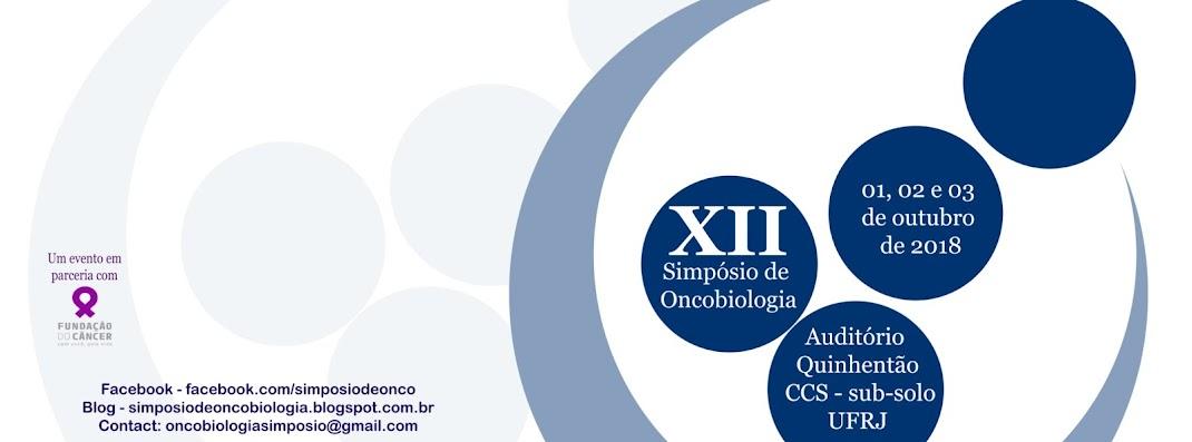 XII Simpósio de Oncobiologia - 2018