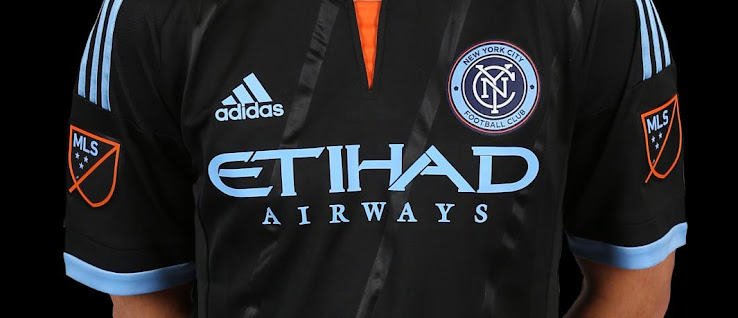 New york city fc 2015 mls home and away kits released