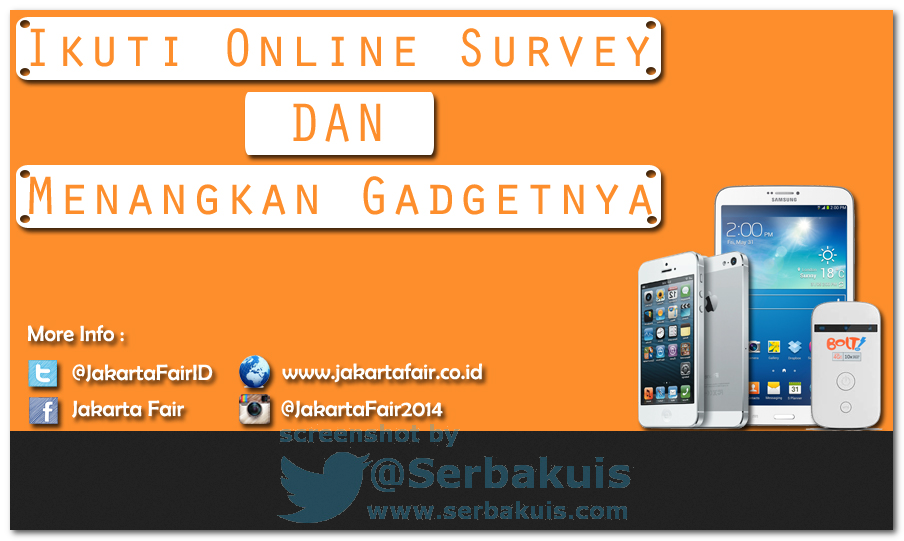 Kuis Survey Berhadiah SAMSUNG Galaxy Tab 3 8 inch