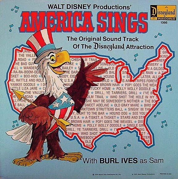 1974 America Sings record