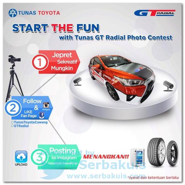 Kontes Foto Berhadiah SAMSUNG Smartphone, 6 Pcs Ban Mobil, dan Voucher MAP