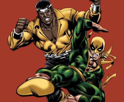 iron fist,luke cage,marvel comics