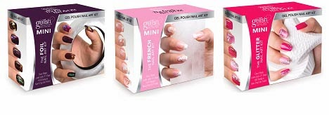 Gelish mini nail art kits polish galore for some nail art comes naturally for me its a bit harder i constantly feel like i need a guide book gelish mini has made it a little easier with 3 prinsesfo Images