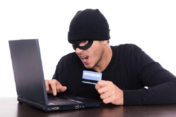 robou de dados de cartão de crédito