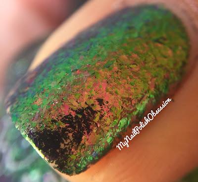 KBShimmer Green Weaver