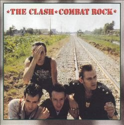album cover of The Clash - Combat Rock