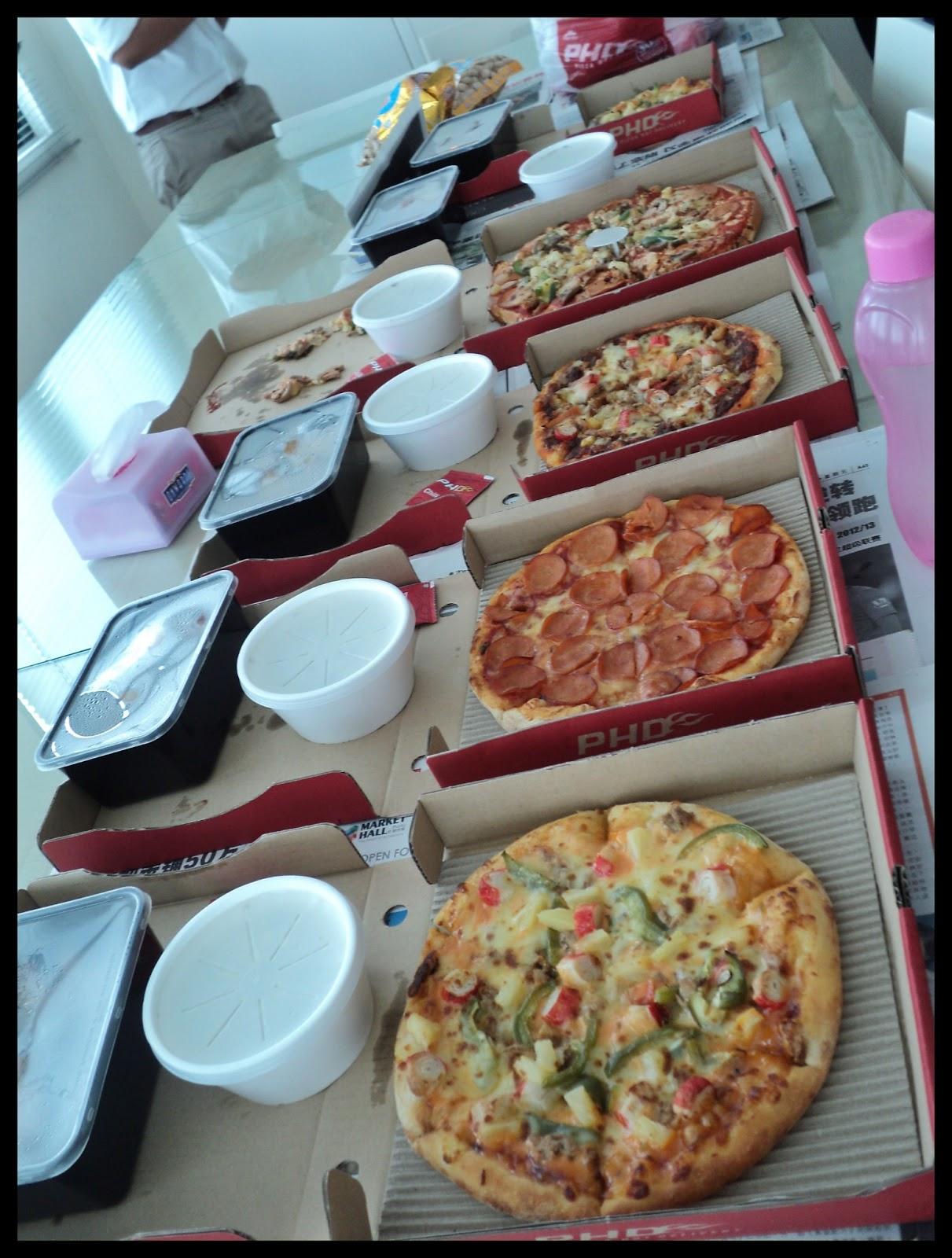 Makan pizza hut jetapi syedappppnyumnyumnyummacam-macam jenis