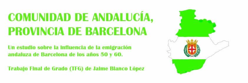 Comunidad de Andalucía, provincia de Barcelona