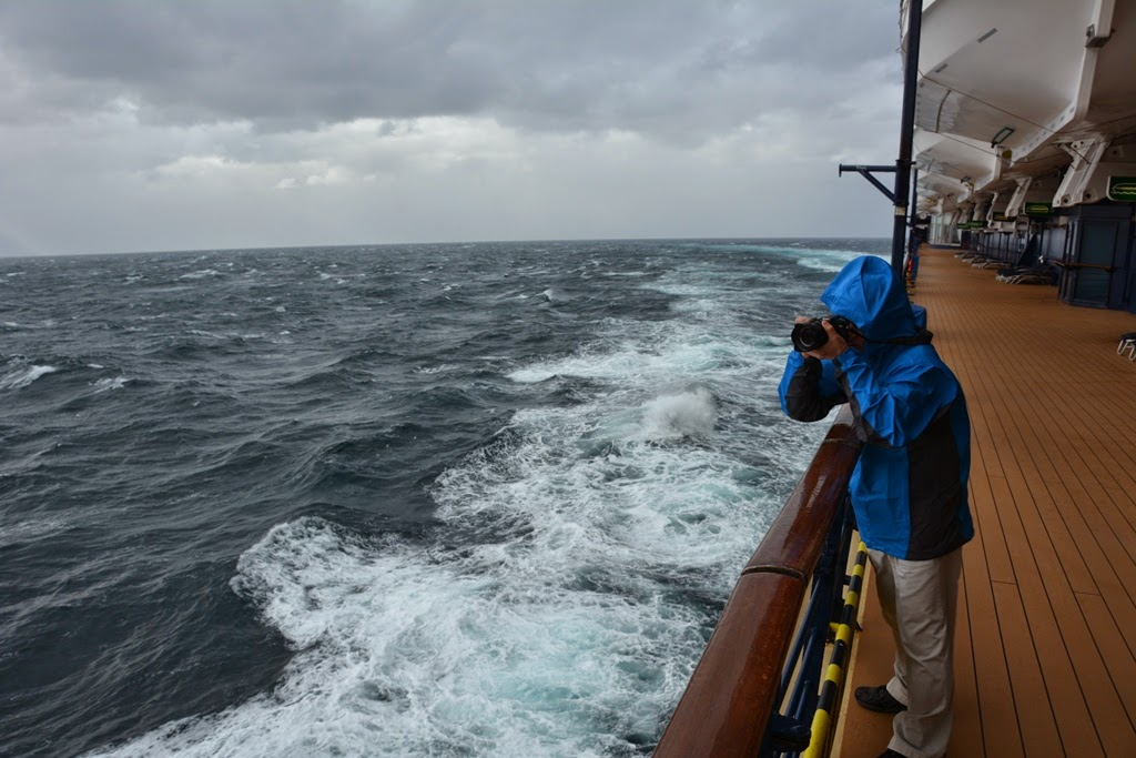 Cruising Cape Horn open deck