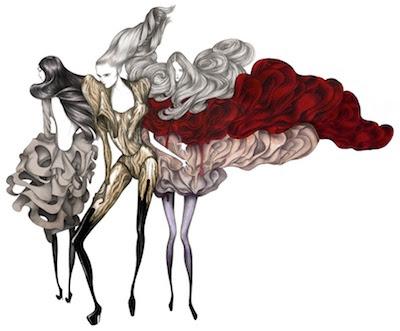 Ilustración para Oeil de la Mode