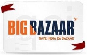 Big Bazaar Gift Voucher 10% Cashback – PayTm