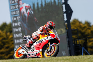 Hasil Lengkap Kualifikasi MotoGP Australia 2015, Marc Marquez Pole Position