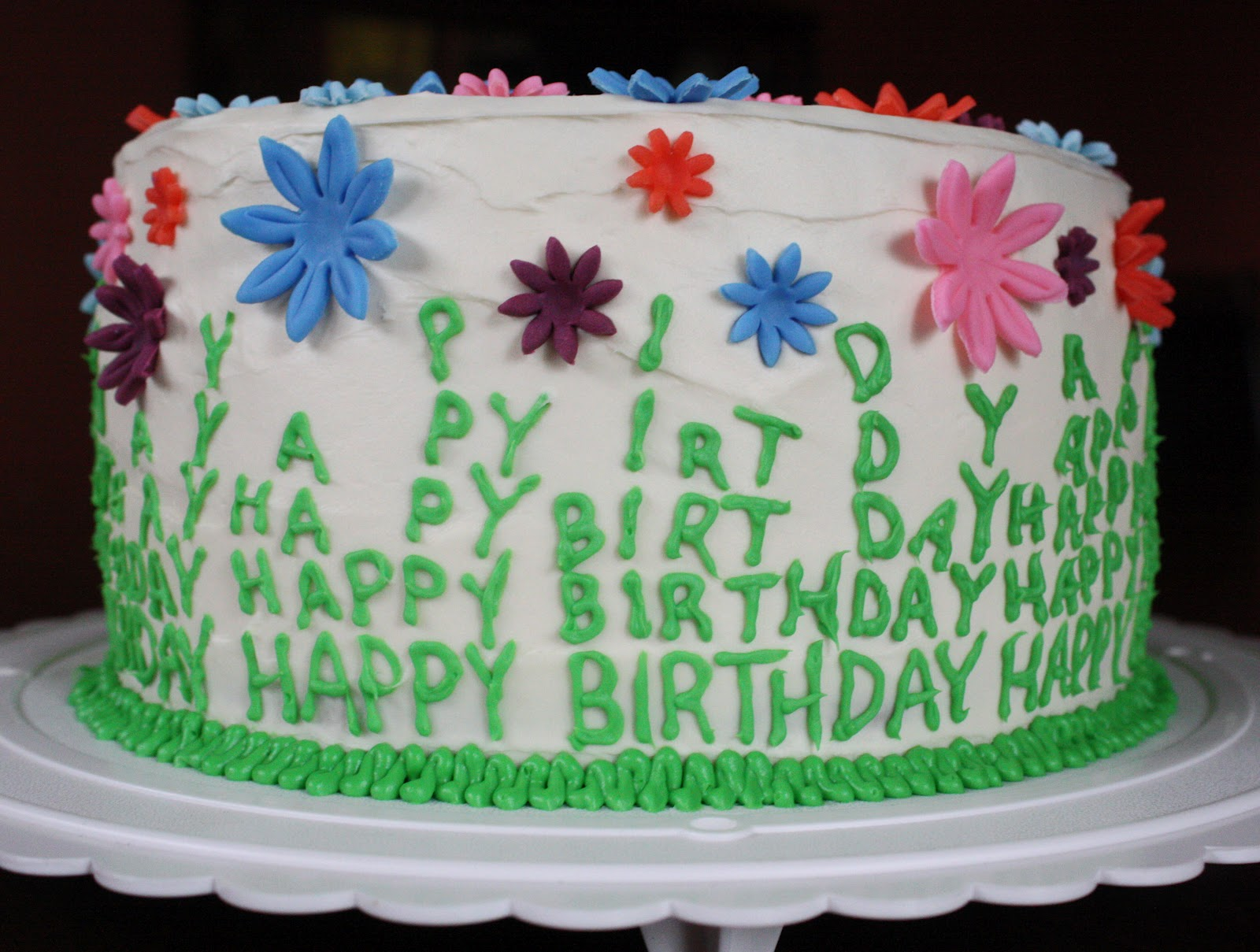 Easy Spring Birthday Cake Ideas 9364 Straight To Cake Mom