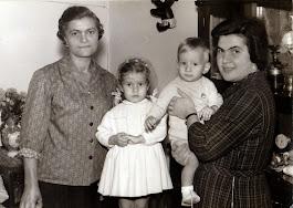 Nonna Amabile, Mamma Anna, Alessandro, Alessandra