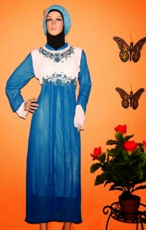 Baju Muslim Gamis Hari Raya Lebaran 2014