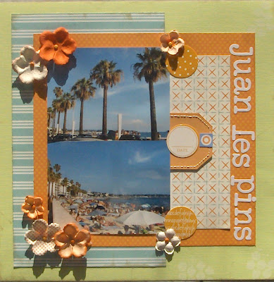 layout di scrapbooking