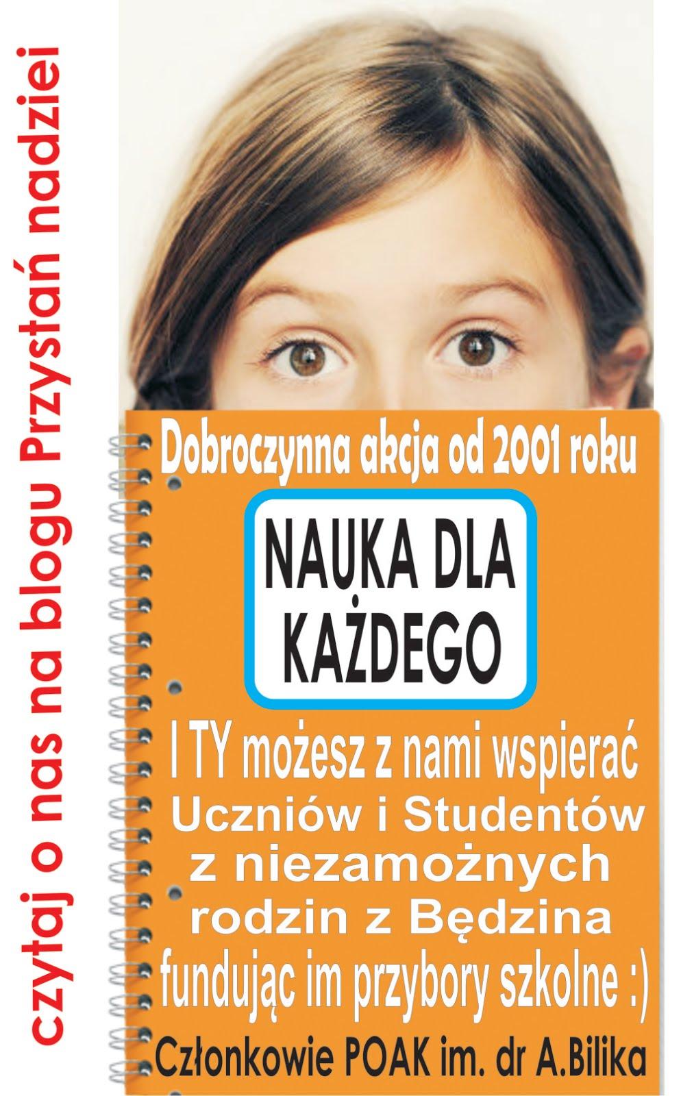 Od 2001 roku pomagamy uczącym się