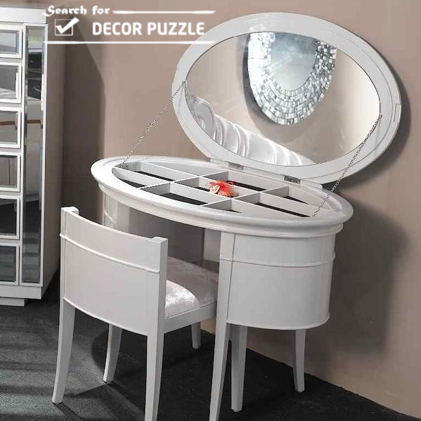 Modern Wardrobe With Dressing Table : color contemporary dressing table designs modern white dressing tables ...