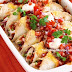 Chicken enchiladas with tomato salsa - Healthy Mexican Dinners