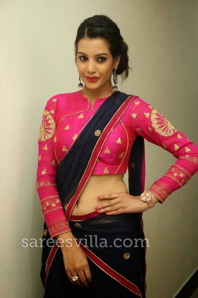 Deeksha Panth At Kavvintha Movie Audio Launch