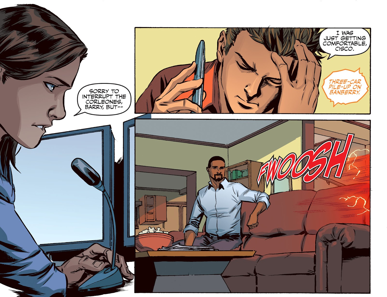 The Flash: Season Zero [I] Issue #20 #20 - English 7