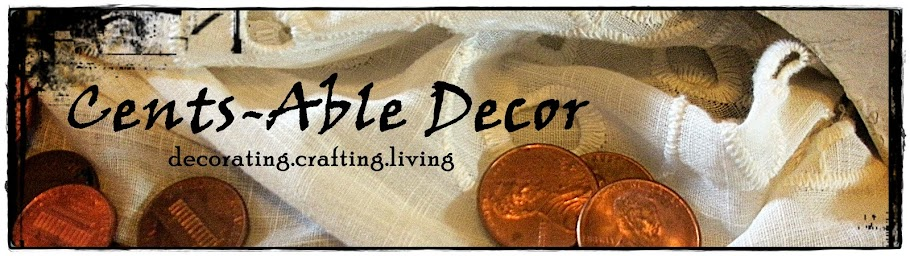 Cents-Able Decor
