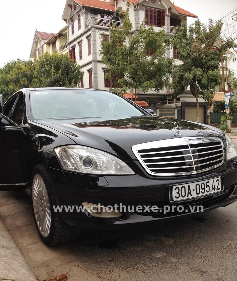 Cho thuê xe Mercedes S500 tại Hà Nội dòng Business