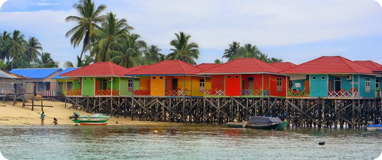 Penginapan di Pulau Derawan