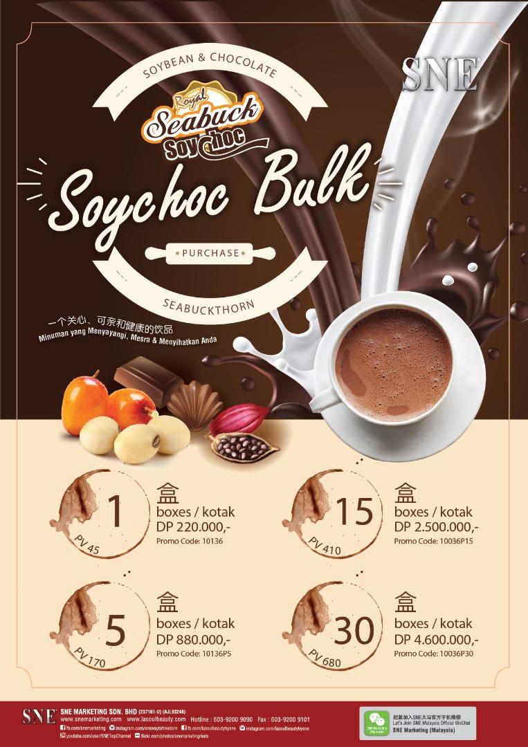 Promo Seabuckthorn rasa Coklat Hari Ini