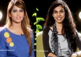 Singer Sravana Bhargavi in Katti Karthika Show