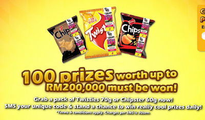 Twisties 'Daily Twist' Contest