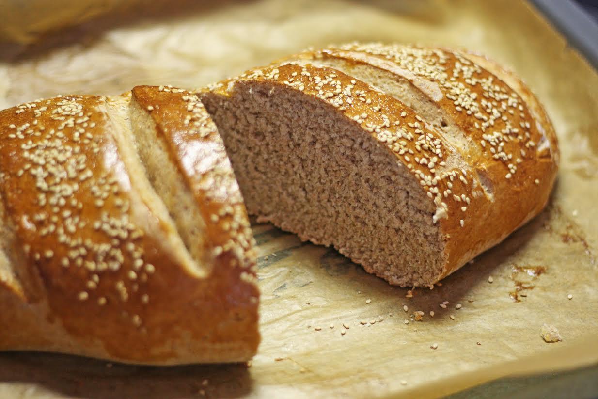 Experimente aus meiner Küche: Weizenkleie-Honig-Brot #breadbakingfriday