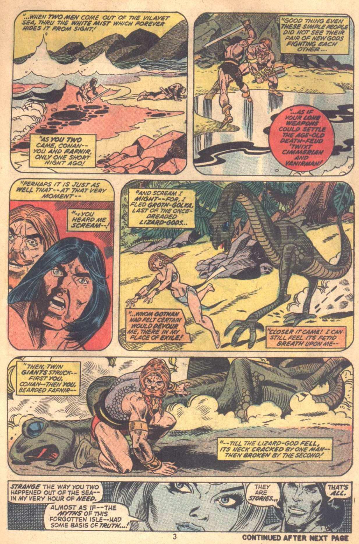 Conan the Barbarian (1970) Issue #18 #30 - English 4