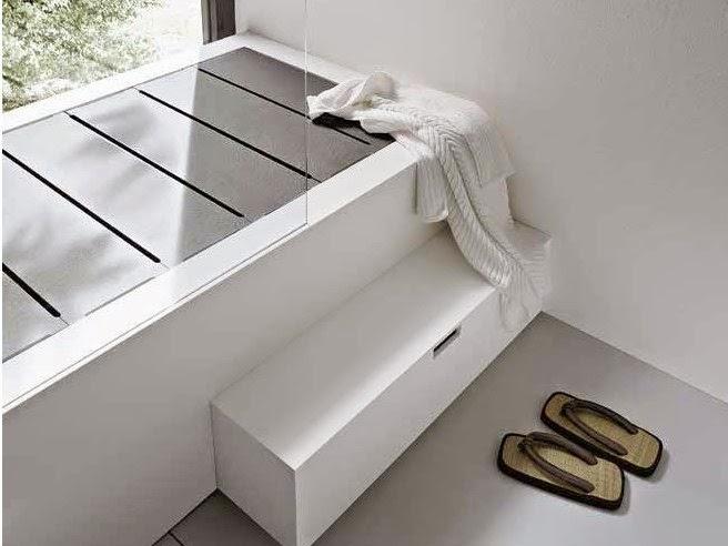 vasca e doccia insieme con la vasca doccia della coll unico by rexa