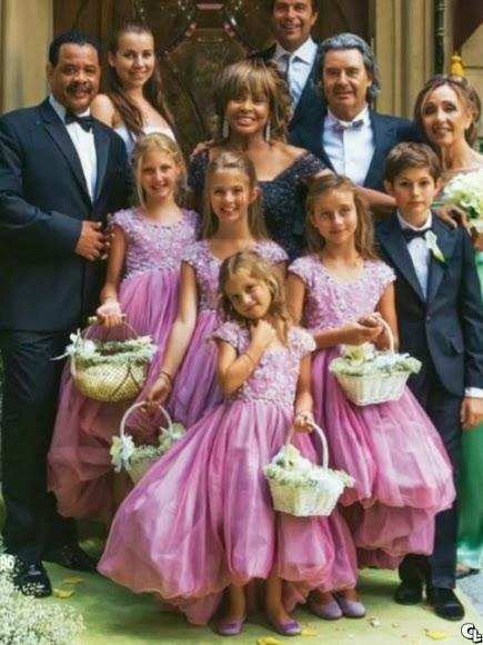 Tina turner erwin bach wedding