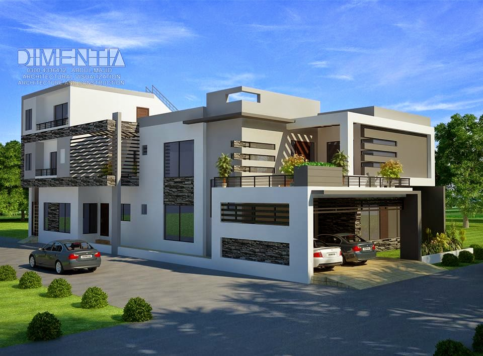 1 Kanal House Plan Layout 500 sq ~ 3D Front Design.Blog