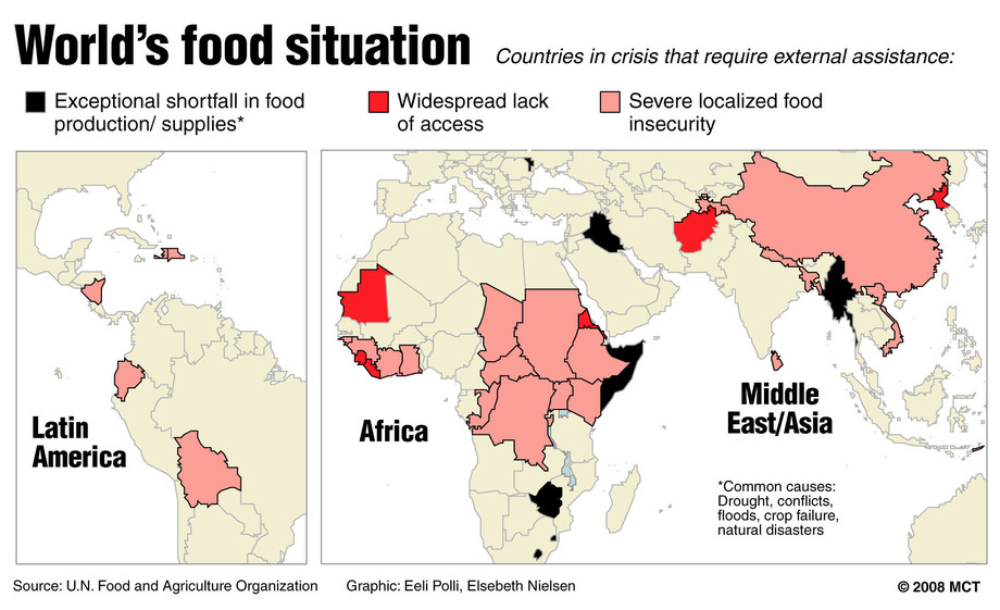 how is science combating food shortages in africa essay Solving the food crisis mostly in africa and south asia dimensions of the food security question: how to combat price volatility and.