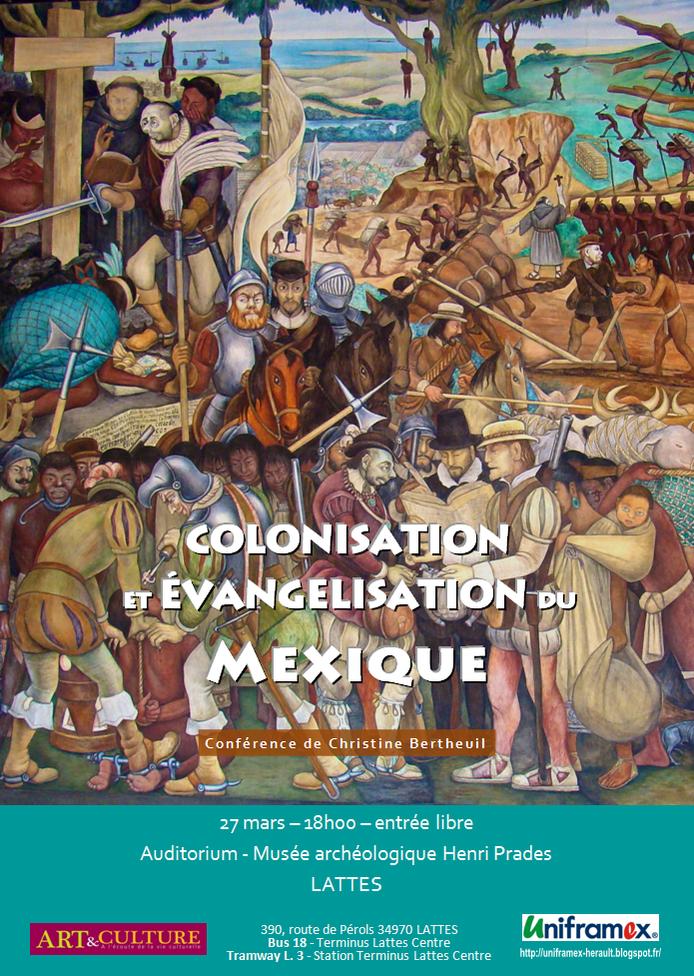 Conférence - Colonisation et évangélisation du Mexique