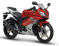 New 2011 Yamaha R15 version 2.0 red color