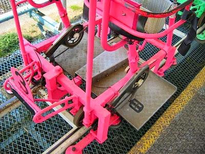 Sky Cycle, Roller Coaster Berbentuk Sepeda Ontel di Jepang