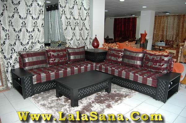 Deco Cuisine Campagne Rouge : Salon Marocain Traditionnel et Moderne  موقع لالة سناء