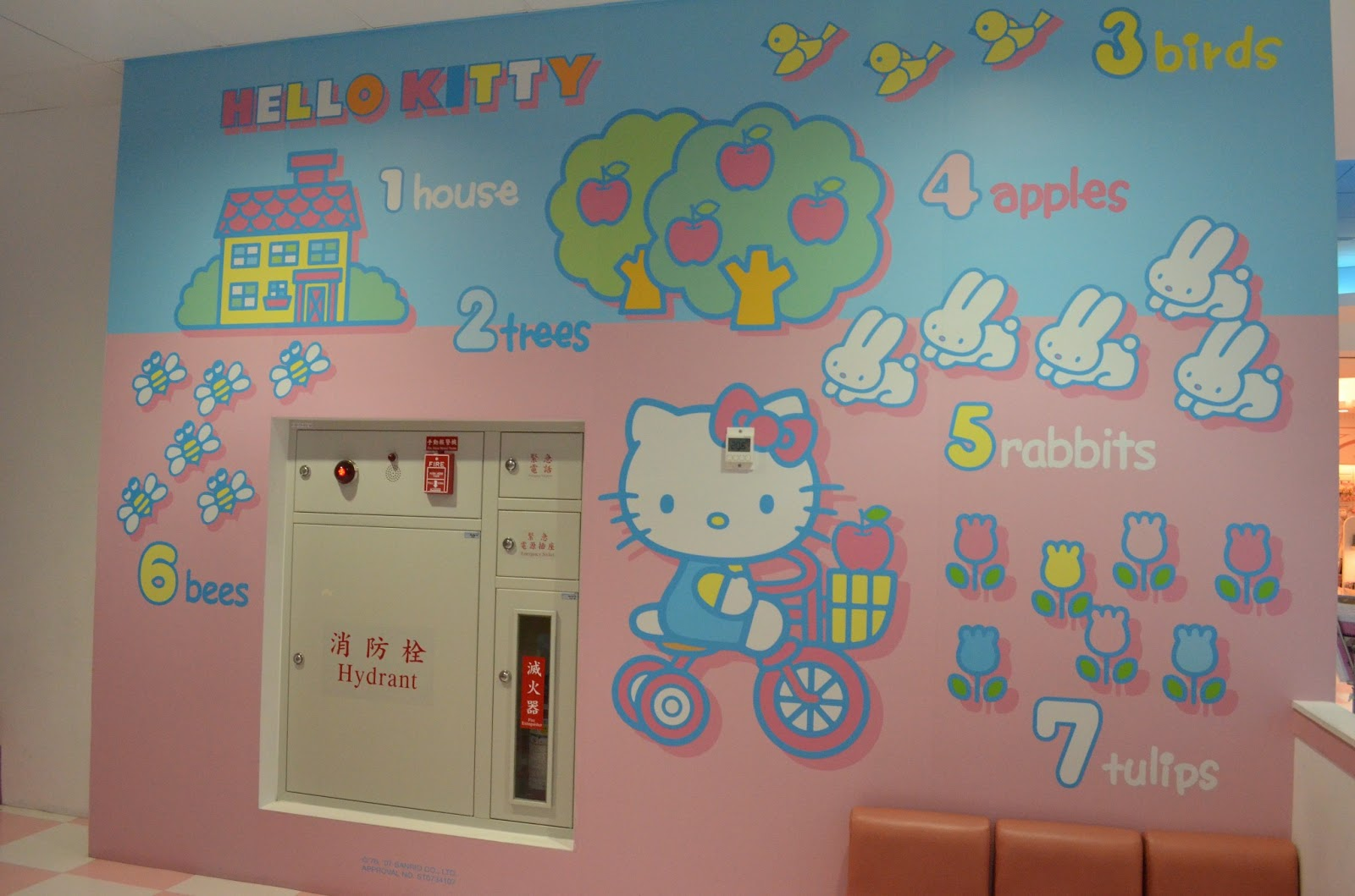 Eva Air Hello Kitty Terminal in Taiwan | A Light Review