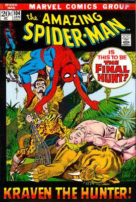 Amazing Spider-Man #104, Kraven, Ka-Zar, Zabu